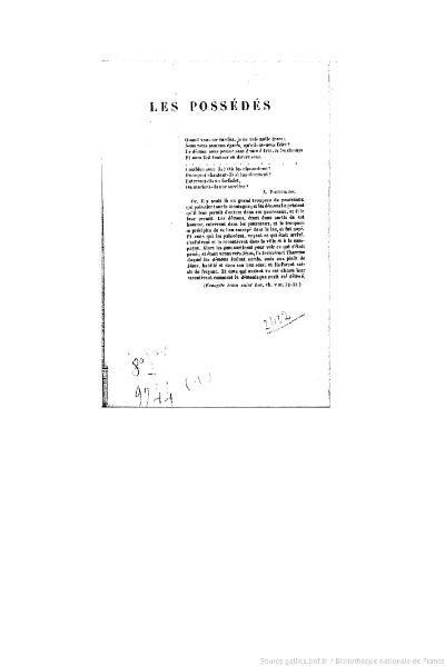 File:Dostoïevski - Les Possédés, Plon, 1886, tome 1.djvu