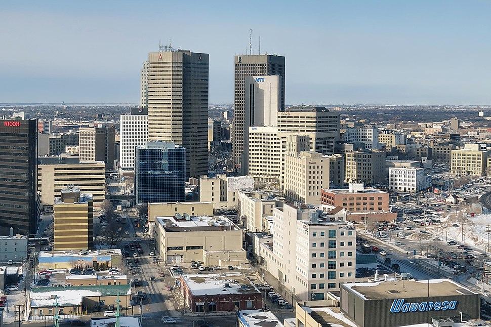 Downtown Area, Winnipeg - panoramio (1)
