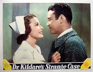 Dr. Kildare's Strange Case - Lobby card for Dr.Kildare's Strange Case (1940)