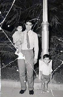 Dr Maziar Ashrafian Bonab- With father and sister (Mr Khalil Ashrafian Bonab- Dr Laleh Ashrafian Bonab).jpg