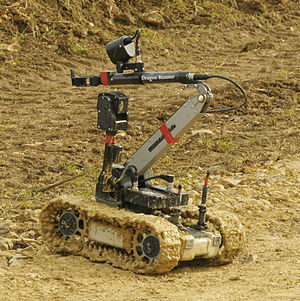 Unmanned systems of the British Army - Dragon Runner