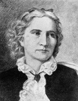 Anne Whitney - Drawing of Anne Whitney (1821-1915)