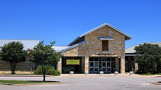 Dripping Springs High School Comprehensive public high school in Dripping Springs, Texas, United States