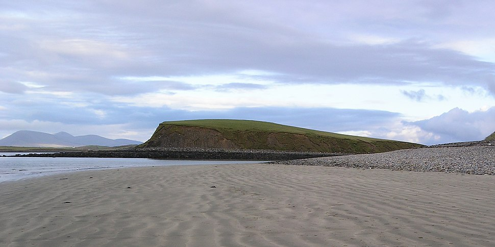 Drowned drumlin in Clew Bay (cropped)