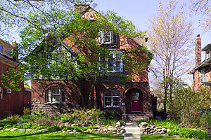 Dufferin Grove - House on Rusholme