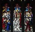 Dundalk Saint Patrick's Pro-Cathedral West Aisle Window 03 Upper Lights 2013 09 23.jpg