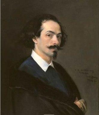 Matías Moreno - Matías Moreno; portrait by  Carolus-Duran (1867)
