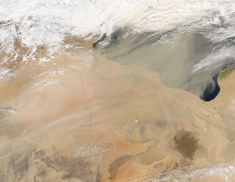 File:Dust storm over Libya.jpg