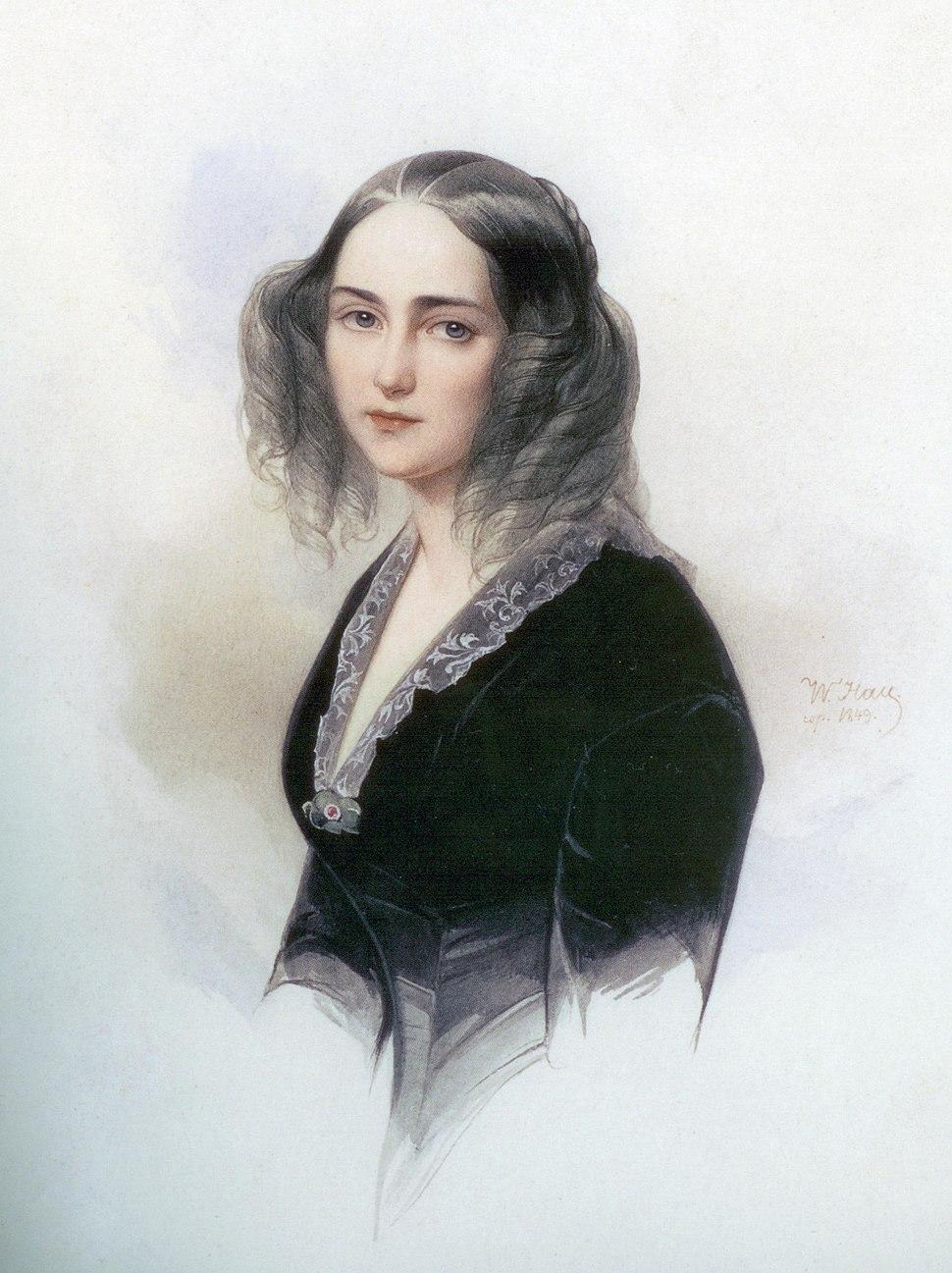 E.Musina-Pushkina by V.Gau (1840, GRM)