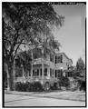 EAST SIDE, FROM NORTHEAST - James Rhett House, 303 Federal Street, Beaufort, Beaufort County, SC HABS SC,7-BEAUF,22-4.tif