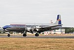 EGLF - Douglas DC-6B - OE-LDM (28731678037).jpg