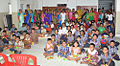 ENC employees at Abode of Peace Orphanage Home, Dondaparthi.jpg