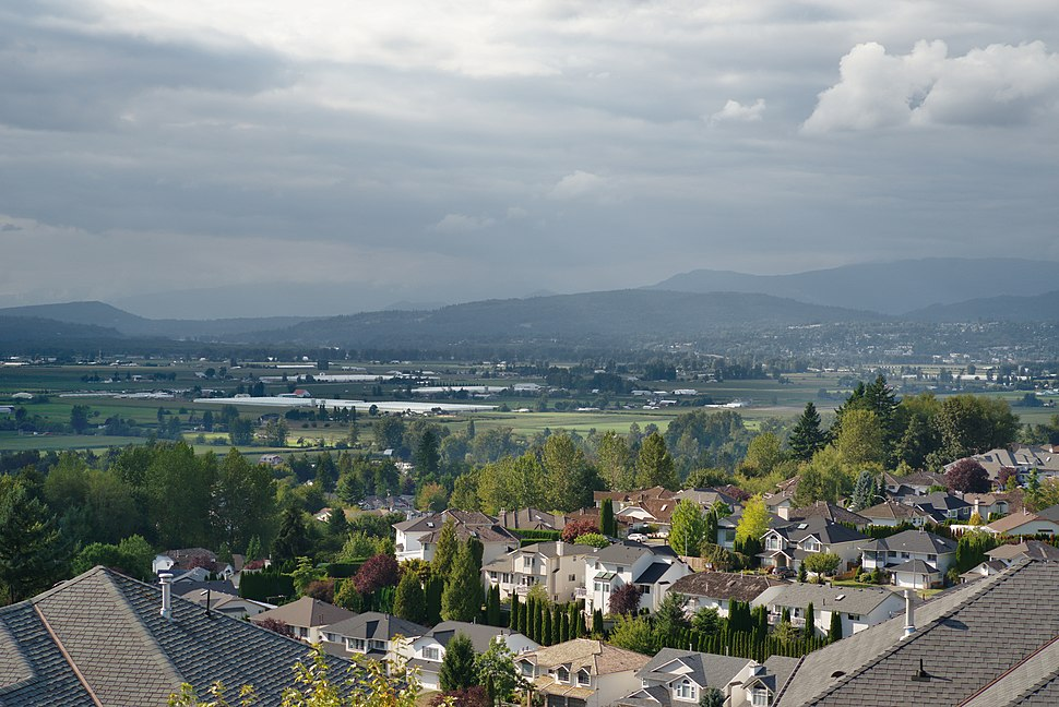 East Abbotsford looking towards Mission
