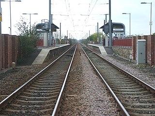 East Boldon Metro station Tyne and Wear Metro station in South Tyneside