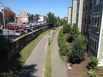 East Boston Greenway - Image: East Boston Greenway.agr