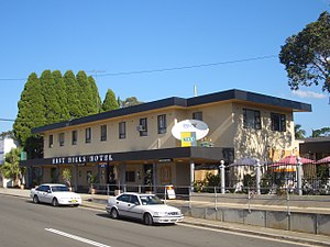East Hills, New South Wales -  East Hills Hotel, Maclaurin Avenue