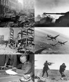 Eastern Front (World War II) theatre of World War II - war between Germany and USSR 1941-1945