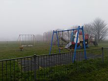 Enclosed Childrens Play Area At Eastward Ho Felixstowe Location Is Featured In Ed Sheerans Music Video For The Single Castle On Hill