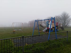 Castle on the Hill (song) - Enclosed children's play area at Eastward Ho!, Felixstowe. Location is featured in the music video.