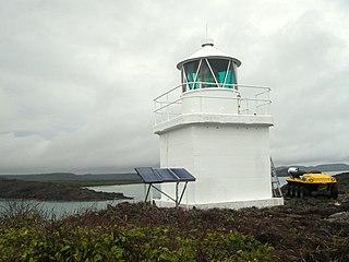 Eborac Island Light lighthouse in Queensland, Australia