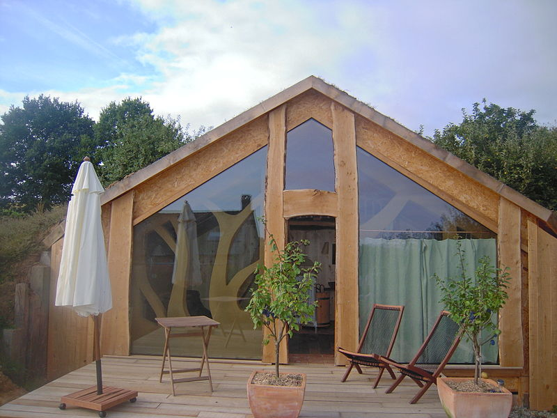 how to build an ecolodge