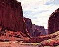 Edgar Alwyn Payne Canyon de Chelly, Arizona.jpg