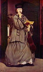 Édouard Manet: The Street Singer