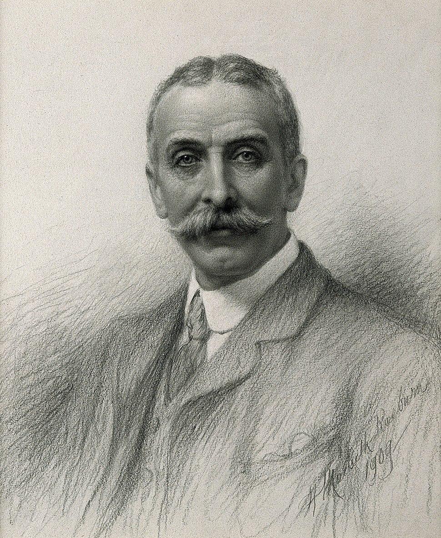 Edward Law. Pencil drawing by H. M. Raeburn, 1909. Wellcome V0003431