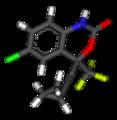 Efavirenz 3D sticks 1fk9.png