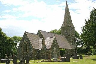 St Caffos Church, Llangaffo Church in Wales