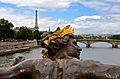 Eiffel Tower from Pont Alexandre III, Paris 24 May 2014.jpg