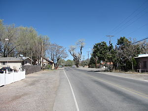 Algodones, New Mexico - El Camino Real