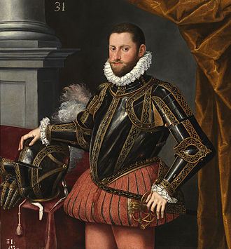Archduke Ernest of Austria - Portrait by Alonso Sánchez Coello c. 1580