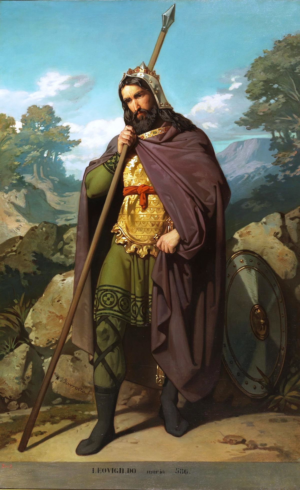 Leovigildo wikipedia la enciclopedia libre - El rey del tresillo ...