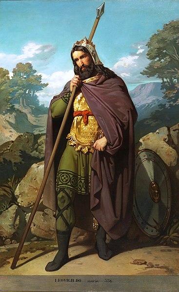 Retrato imaginario del rey Leovigildo.