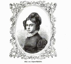 Elisa von Ahlefeldt German salon-holder