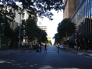 Elizabeth Street, Brisbane street in Brisbane