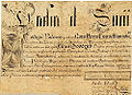 Elizur Goodrich diploma bachelor of arts Yale College 1752.jpg