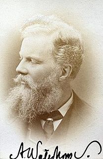 Alfred Waterhouse British architect