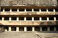 Ellora Caves, India, Facade of ancient Buddhist temple, Cave 11.jpg
