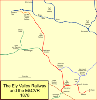 Ely Valley Railway railway in south Wales, United Kingdom
