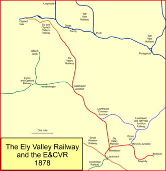 Ely Valley Railway - The Ely Valley Railway