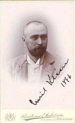 Emil Kléen - Emil Kléen in 1896
