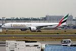 Emirates, A6-EBM, Boeing 777-31H ER (20358585321).jpg