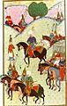 Empire ottoman - La campagne de Belgrade - Miniature du XVe siècle.jpg