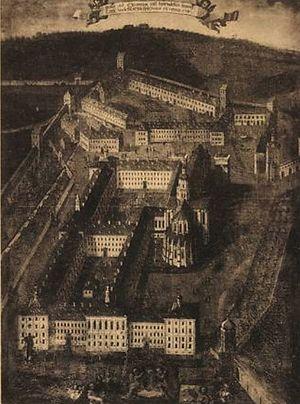 Kaisheim Abbey - Kaisersheim in the 18th century