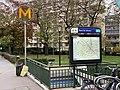 Entrée Station Métro Pont Sèvres Boulogne Billancourt 2.jpg