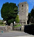 Entrance to Llandybie Parish Church - geograph.org.uk - 4445311.jpg