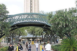Tower of the Americas - Entrance to the Tower of the Americas