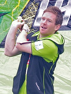Eoin Morgan Irish-born professional cricketer who captains England